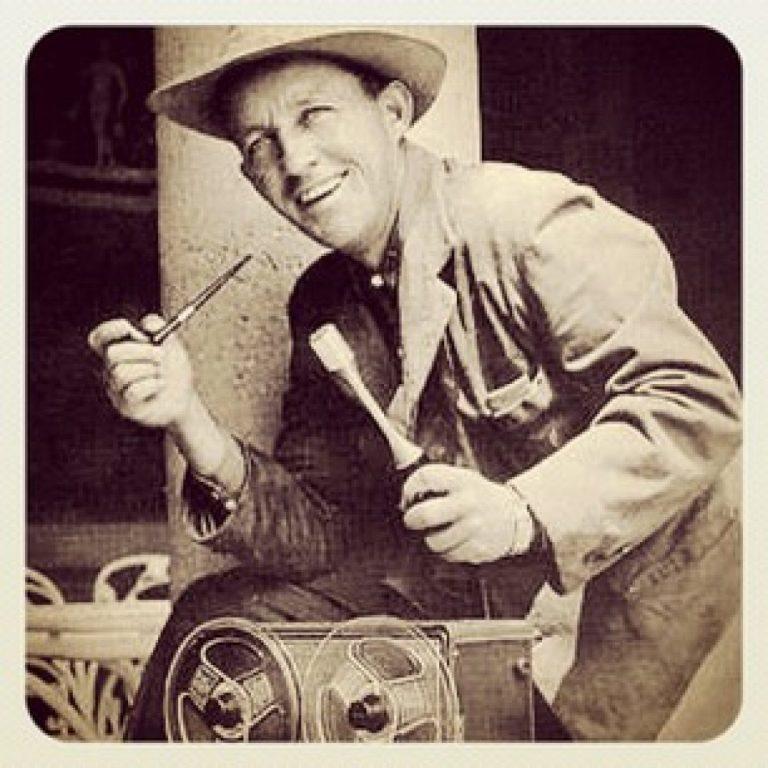 Bing Crosby et le geste magnétique