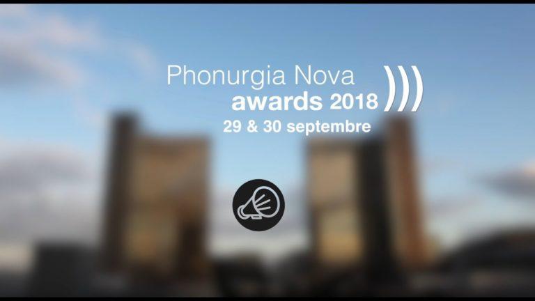 Le prix Phonurgia Nova, 2018, récompense ma pièce «Même morts nous chantons»